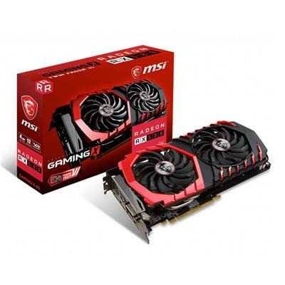 PLACA VIDEO VGA PCI-E 4GB RX 580 GAMING X 4G MSI